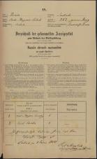 Popis prebivalstva 31. 12. 1869<br />Ljubljana<br />Mesto 212<br />Population census 31 December 1869