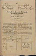 Popis prebivalstva 31. 12. 1869<br />Ljubljana<br />Mesto 213<br />Population census 31 December 1869