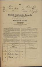 Popis prebivalstva 31. 12. 1869<br />Ljubljana<br />Mesto 218<br />Population census 31 December 1869