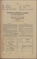 Popis prebivalstva 31. 12. 1869<br />Ljubljana<br />Mesto 222<br />Population census 31 December 1869