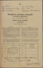 Popis prebivalstva 31. 12. 1869<br />Ljubljana<br />Mesto 224<br />Population census 31 December 1869