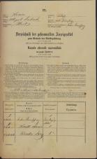 Popis prebivalstva 31. 12. 1869<br />Ljubljana<br />Mesto 225<br />Population census 31 December 1869