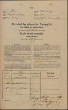 Popis prebivalstva 31. 12. 1869<br />Ljubljana<br />Mesto 228<br />Population census 31 December 1869