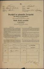 Popis prebivalstva 31. 12. 1869<br />Ljubljana<br />Mesto 258<br />Population census 31 December 1869