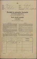 Popis prebivalstva 31. 12. 1869<br />Ljubljana<br />Mesto 263<br />Population census 31 December 1869