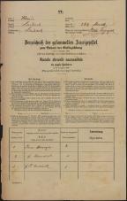 Popis prebivalstva 31. 12. 1869<br />Ljubljana<br />Mesto 269<br />Population census 31 December 1869