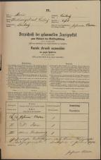 Popis prebivalstva 31. 12. 1869<br />Ljubljana<br />Mesto 278<br />Population census 31 December 1869