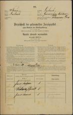 Popis prebivalstva 31. 12. 1869<br />Ljubljana<br />Gradišče 18<br />Population census 31 December 1869