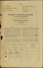 Popis prebivalstva 31. 12. 1869<br />Ljubljana<br />Gradišče 22<br />Population census 31 December 1869