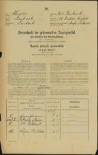 Popis prebivalstva 31. 12. 1869<br />Ljubljana<br />Gradišče 24<br />Population census 31 December 1869
