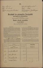 Popis prebivalstva 31. 12. 1869<br />Ljubljana<br />Gradišče 27<br />Population census 31 December 1869