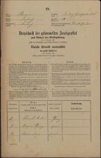 Popis prebivalstva 31. 12. 1869<br />Ljubljana<br />Gradišče 30<br />Population census 31 December 1869