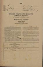Popis prebivalstva 31. 12. 1869<br />Ljubljana<br />Gradišče 32<br />Population census 31 December 1869