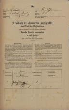 Popis prebivalstva 31. 12. 1869<br />Ljubljana<br />Gradišče 34<br />Population census 31 December 1869