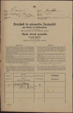 Popis prebivalstva 31. 12. 1869<br />Ljubljana<br />Gradišče 35<br />Population census 31 December 1869