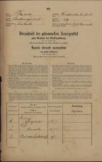 Popis prebivalstva 31. 12. 1869<br />Ljubljana<br />Gradišče 39<br />Population census 31 December 1869