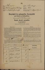 Popis prebivalstva 31. 12. 1869<br />Ljubljana<br />Gradišče 40<br />Population census 31 December 1869