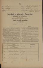 Popis prebivalstva 31. 12. 1869<br />Ljubljana<br />Gradišče 55<br />Population census 31 December 1869