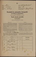 Popis prebivalstva 31. 12. 1869<br />Ljubljana<br />Gradišče 56<br />Population census 31 December 1869