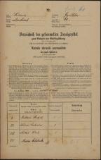 Popis prebivalstva 31. 12. 1869<br />Ljubljana<br />Gradišče 60<br />Population census 31 December 1869