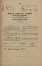 Popis prebivalstva 31. 12. 1869<br />Ljubljana<br />Gradišče 64<br />Population census 31 December 1869