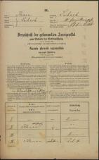 Popis prebivalstva 31. 12. 1869<br />Ljubljana<br />Kapucinsko predmestje 10<br />Population census 31 December 1869