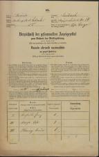 Popis prebivalstva 31. 12. 1869<br />Ljubljana<br />Kapucinsko predmestje 14<br />Population census 31 December 1869