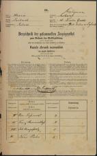 Popis prebivalstva 31. 12. 1869<br />Ljubljana<br />Kapucinsko predmestje 18<br />Population census 31 December 1869