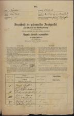 Popis prebivalstva 31. 12. 1869<br />Ljubljana<br />Kapucinsko predmestje 2<br />Population census 31 December 1869