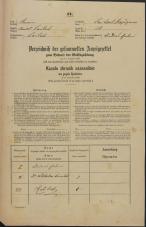 Popis prebivalstva 31. 12. 1869<br />Ljubljana<br />Kapucinsko predmestje 20<br />Population census 31 December 1869