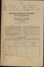 Popis prebivalstva 31. 12. 1869<br />Ljubljana<br />Kapucinsko predmestje 24<br />Population census 31 December 1869