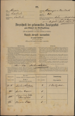 Popis prebivalstva 31. 12. 1869<br />Ljubljana<br />Kapucinsko predmestje 28<br />Population census 31 December 1869