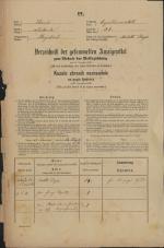 Popis prebivalstva 31. 12. 1869<br />Ljubljana<br />Kapucinsko predmestje 32<br />Population census 31 December 1869