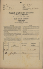 Popis prebivalstva 31. 12. 1869<br />Ljubljana<br />Kapucinsko predmestje 38<br />Population census 31 December 1869