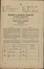 Popis prebivalstva 31. 12. 1869<br />Ljubljana<br />Kapucinsko predmestje 39<br />Population census 31 December 1869