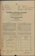 Popis prebivalstva 31. 12. 1869<br />Ljubljana<br />Kapucinsko predmestje 42<br />Population census 31 December 1869
