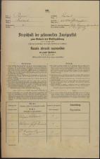 Popis prebivalstva 31. 12. 1869<br />Ljubljana<br />Kapucinsko predmestje 44<br />Population census 31 December 1869