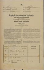 Popis prebivalstva 31. 12. 1869<br />Ljubljana<br />Kapucinsko predmestje 45<br />Population census 31 December 1869