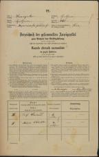 Popis prebivalstva 31. 12. 1869<br />Ljubljana<br />Kapucinsko predmestje 46<br />Population census 31 December 1869
