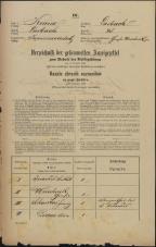 Popis prebivalstva 31. 12. 1869<br />Ljubljana<br />Kapucinsko predmestje 48<br />Population census 31 December 1869