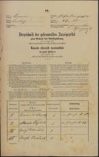 Popis prebivalstva 31. 12. 1869<br />Ljubljana<br />Kapucinsko predmestje 50<br />Population census 31 December 1869