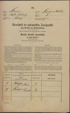 Popis prebivalstva 31. 12. 1869<br />Ljubljana<br />Kapucinsko predmestje 5<br />Population census 31 December 1869