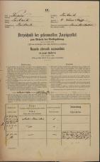 Popis prebivalstva 31. 12. 1869<br />Ljubljana<br />Kapucinsko predmestje 6<br />Population census 31 December 1869