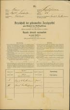 Popis prebivalstva 31. 12. 1869<br />Ljubljana<br />Kapucinsko predmestje 54<br />Population census 31 December 1869