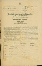 Popis prebivalstva 31. 12. 1869<br />Ljubljana<br />Kapucinsko predmestje 58<br />Population census 31 December 1869