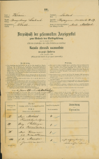 Popis prebivalstva 31. 12. 1869<br />Ljubljana<br />Kapucinsko predmestje 59<br />Population census 31 December 1869