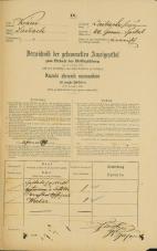 Popis prebivalstva 31. 12. 1869<br />Ljubljana<br />Kapucinsko predmestje 60<br />Population census 31 December 1869