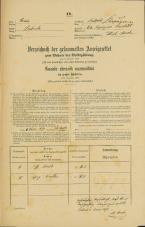 Popis prebivalstva 31. 12. 1869<br />Ljubljana<br />Kapucinsko predmestje 64<br />Population census 31 December 1869