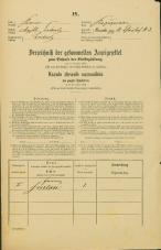 Popis prebivalstva 31. 12. 1869<br />Ljubljana<br />Kapucinsko predmestje 3<br />Population census 31 December 1869