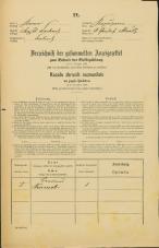 Popis prebivalstva 31. 12. 1869<br />Ljubljana<br />Kapucinsko predmestje 0<br />Population census 31 December 1869